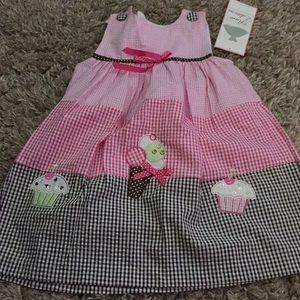 Toddler girls dress size 3t NWT